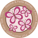 Name Doodles - Round Address Labels/Stickers (Thea Bold)